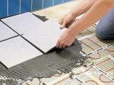 Как подготовится к укладке керамической плитки в ванной комнате