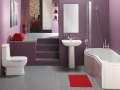 Как покрасить стены в ванной комнате?